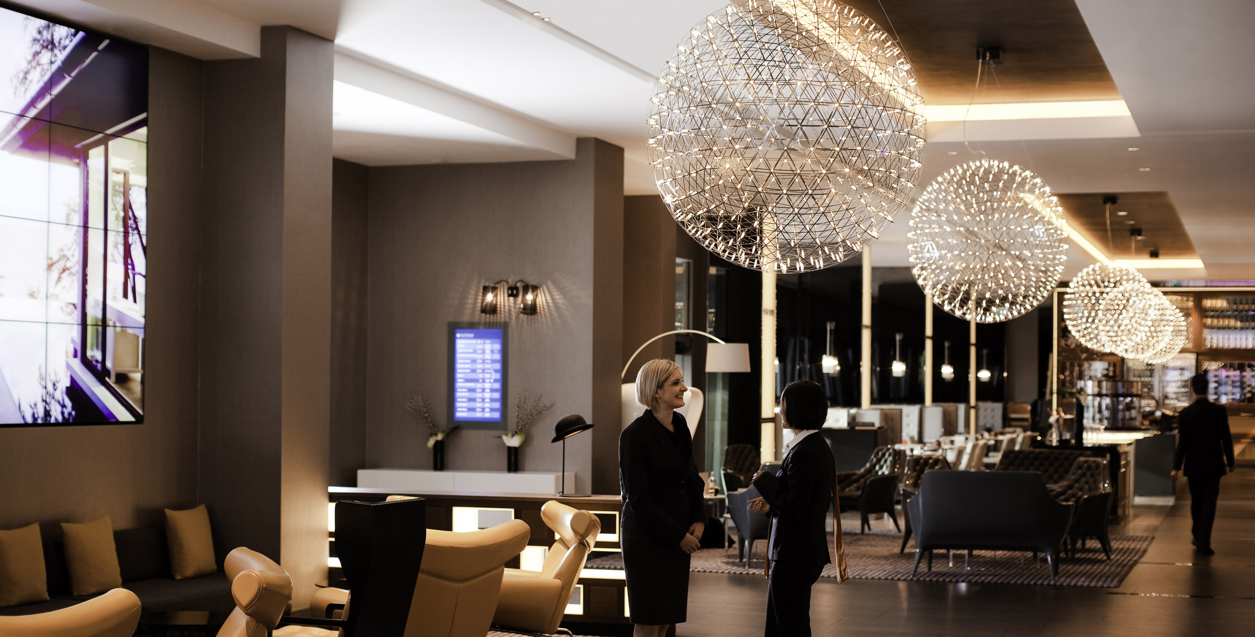 into lighting consultants design lighting scheme for pullman hotel st pancras london