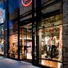 exterior of hurleys retail store lighting designed by into