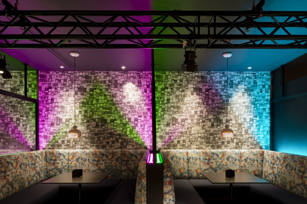 colour-wash lighting by into lighting at The 02 AEIL VIP area
