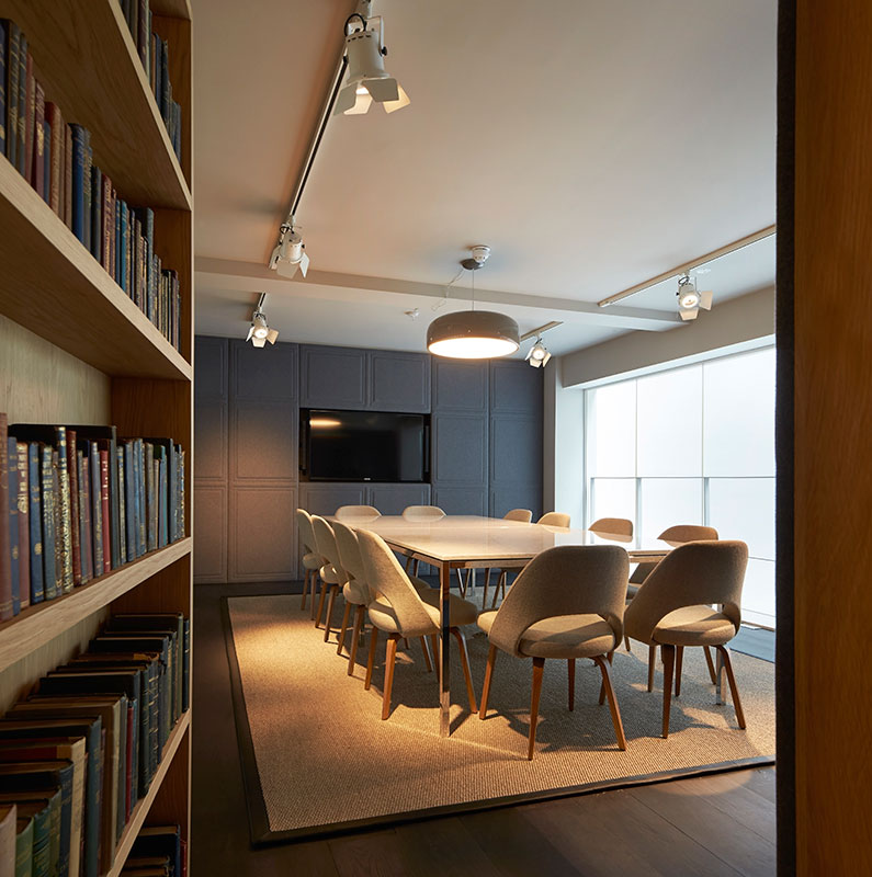 Into lighting fold 7 offices london for Interior design recruitment agency new york